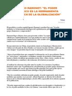 Ramonet, Medios y Globalizacion