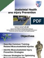 Mus Culo Skeletal Prevention