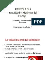 Salud Integral Del Trabajador (Bruno Calderon)