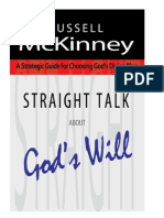Straight Talk About God's Will by Russell McKinney (Excerpt)
