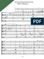 Henry Wilford Sonata Seria Para Orquesta de Cuerdas Op.22 1r Mov