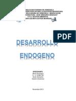 INFORME DESARROLLO ENDOGENO