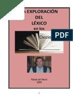La exploración del léxico en los diccionarios