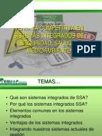 Ventaja Competitiva Sistemas Integrados EHS-II Congreso Copa