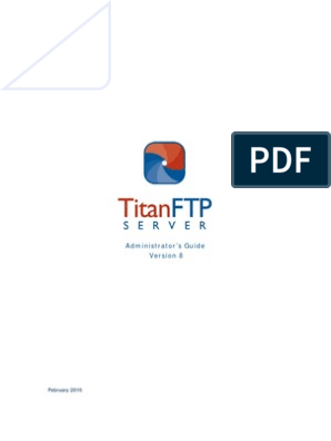 Titan FTP Server Users Guide Master   File Transfer Protocol