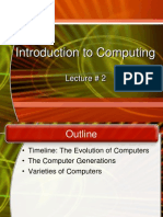 CS 102 IC Lecture 2 Evolution of Computers