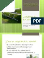 Arquitectu- Ra Verde Analisis