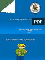 09 Nutrición preescolar y escolar-Dr Ruiz