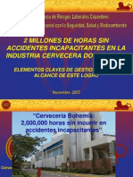 2,000,000 Horas sin Accidentes - Ing.Meniolí Alvarez