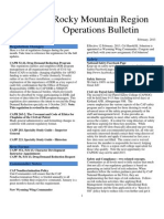 RMR Operations Bulletin - Feb 2013
