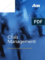 2012 Crisis Management