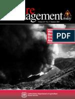 Fire Management Today Volume 63 • No. 3 • Summer 2003