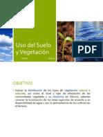Uso del Suelo y Vegetación