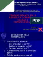 Trabajo Infantil en la RD - Lic.Laetitia Dumas-Dr.José Miguel Santos