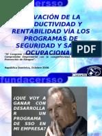06. Lic. Carlos Roberto Rivera. Programas de Salud y Seguridad