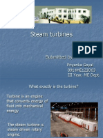 Steam Turbines by Priyanka Goyal