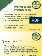 11. Dr. Bruno Calderón. Las Enfermedades Profesionales