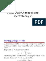 ARIMA GARCH Spectral Analysis