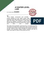 Versatile Water Level Controller
