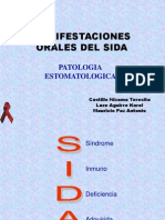 1. Manifestacioes Orales Del SIDA