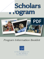 UA Scholars 2011 Booklet