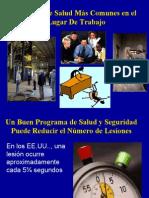 1. Peligros de Salud Mas Comunes en El Lugar de Trabajo