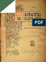 O município de Belém. Relatório de Antônio José Lemos. 1907