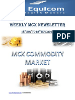 MCX Market Updates 18-November