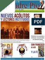 Amigos de Padre Pio - Marzo 2013