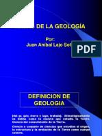 Areas de la Geología-anibal lajo