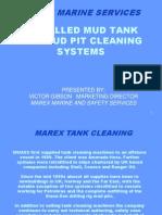 Marex Mud Tank Cleaning