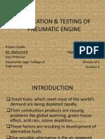 Fabrication & Testing of Pneumatic Engine