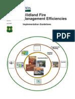 Wildland Fire  Management Efficiencies Implementation Guidelines