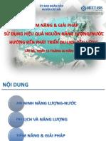 Tiem Nang Va Giai Phap SD Hieu Qua Nguon NL N Huong Den Phat Trien DL Ben Vung