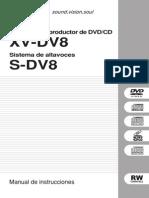 Pioneer Xv-dv8 Om