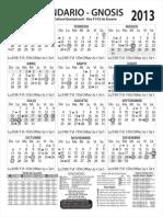 calendario gnostico