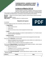 Requisitos de Ingreso Examen y Audición