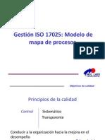 1. Gestion ISO 17025. Modelo Mapa de Procesos