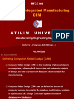 Computer Aided Design CAD-I