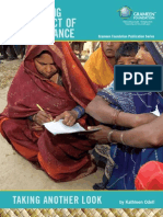 Measuring the Impact of microfinance