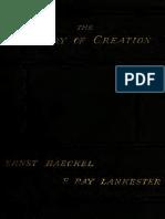 History of Creation (vol. 2 of 2) - Ernst Haeckel