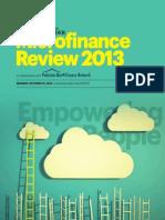 Pakistan Micro finance review 2013