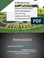 Biology 8.4 Biodiversity