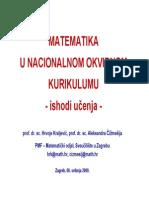 Matematika NOK Predavanje Zagreb
