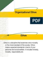 Organisational Ethos