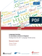 Language Trends Report