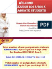 Speech for Graduate Students 120132014