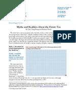 Estate Tax Myths