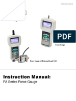 FA Series Force Gauge