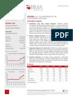 BMA Trade Efoods Report 6-Apr-12